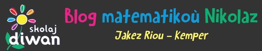 Matematikoù – Jakez Riou